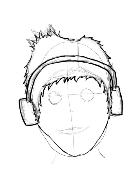Finished Portrait 1- outline